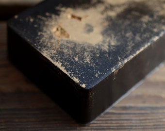 Black Cocoa Soap - Chocolate, Amber, Cedar