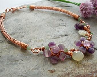 A Summer Flower Necklace