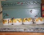 Bird Teacups from Japan
