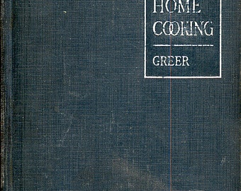 Large Quantity Cookbook School and Home Cooking Carlotta C. Greer Rare Vintage Cook for a Crowd! Cooking Textbook, CrabbyCats, Crabby Cats