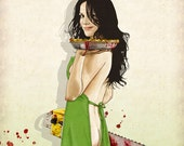 Slaughterhouse Starlets - Mary-Louise Parker Print
