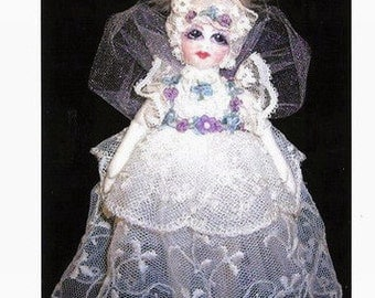 "Little Victoria Dream Fairy 7"" Cloth Doll Pattern by Caroline Erbsland Signed"