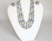 Vintage Necklace and Earring Set Hong Kong