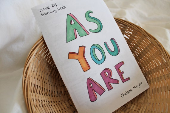 As You Are Zine Issue 1