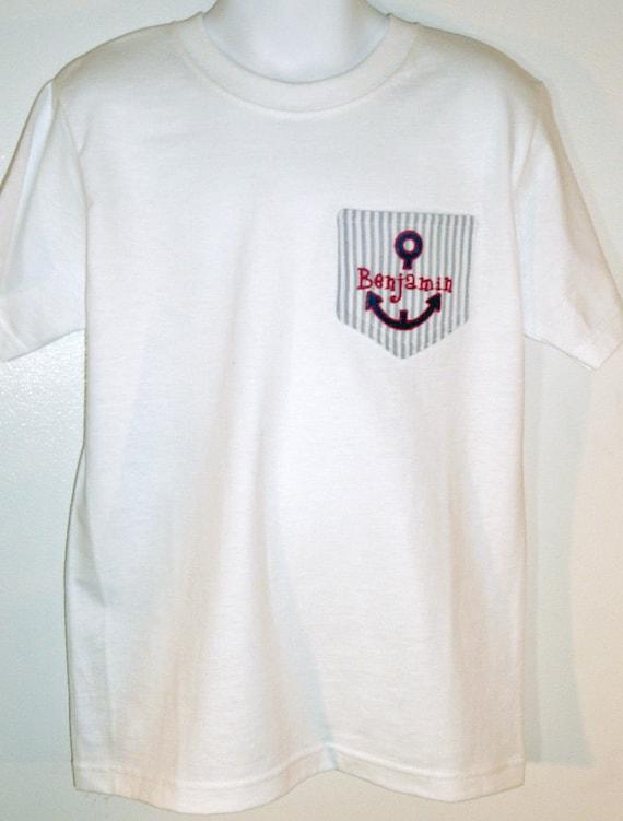 Items similar to custom pocket tee shirt on etsy for Custom t shirts with pockets
