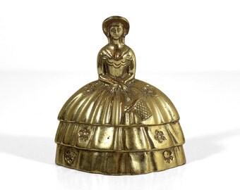 Brass Woman Bell