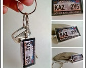 From Supernatural - KAZ2Y5 Impala License Plate Keychain