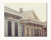 "New Orleans Photography ""Row of Creole Cottages"" - architecture, french quarter, home decor wall art - New Orleans Art -  photograph"