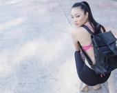 Viper Leather  Backpack/ Latpop backpack