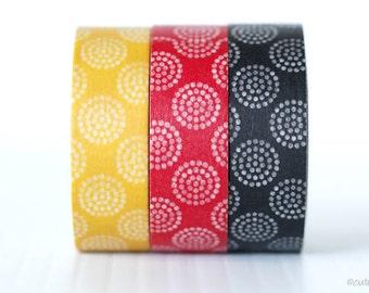 Circle Dots Washi Tape Chugoku