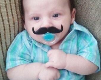 SALE Little Man...Mustache Pacifier...Hipster