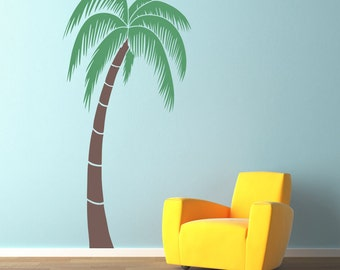 Palm Tree Decal - Extra Large (6 Foot) - Tropical Wall Decal