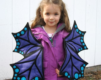 Purple Dragon Butterfly Wings for the Truly Enchanted
