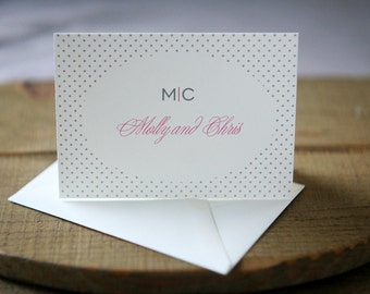 Wedding Thank You Notes - Swiss Miss Personal Stationery