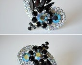 Delizza and Elster Brooch and Earrings
