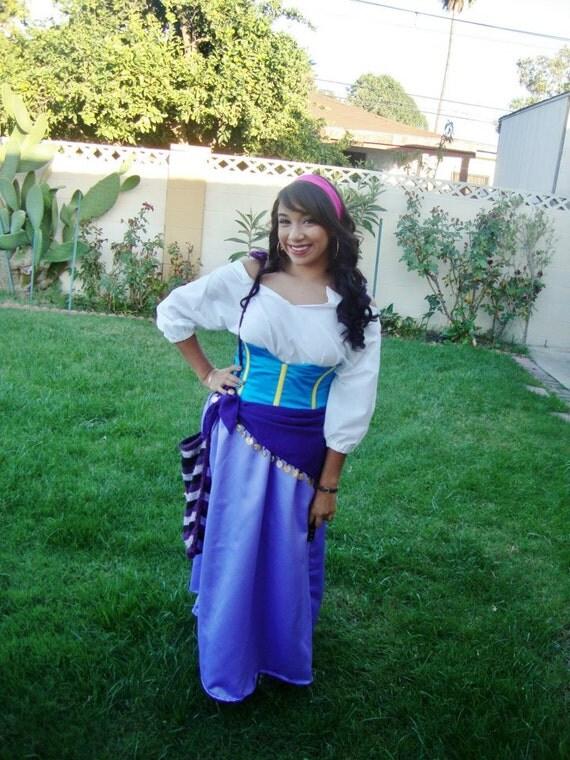 déguisement adulte esmeralda