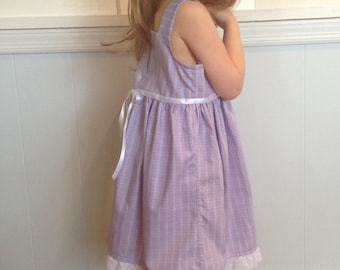 Custom Summertime Upcycled Shirt Dress- size 4T/5T