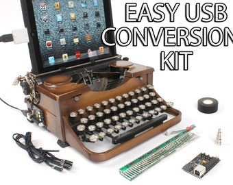 USB Typewriter Conversion Kit -- Easy Install Version