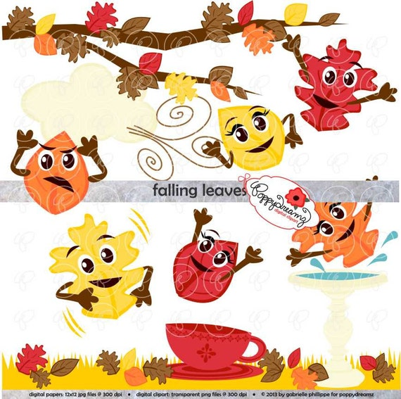 Fall Leaves Pile Png Falling leaves: clip art pack