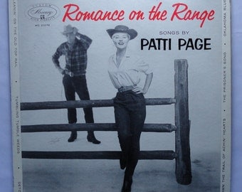 "Rare ""Romance on the Range"" (1955) Patti Page - Very Good Condition"