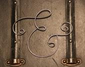 """SALE!!! Hand-bent Wire Sculpture - """"&"""" Ampersand"""