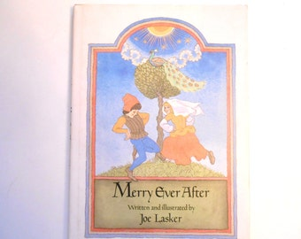 Merry Ever After, a Vintage Children's Book, Middle Ages Medieval Times