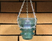 Hanging Candle Holder, Hemingray 42 Electric Insulator Candle Holder 5YKQQ
