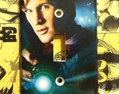 Doctor Who Matt Smith Tardis Light Switch Cover - Switchplate - Switch Plate Cover