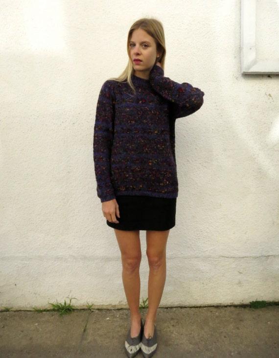 80s Sweater Marled Knit, sz. M