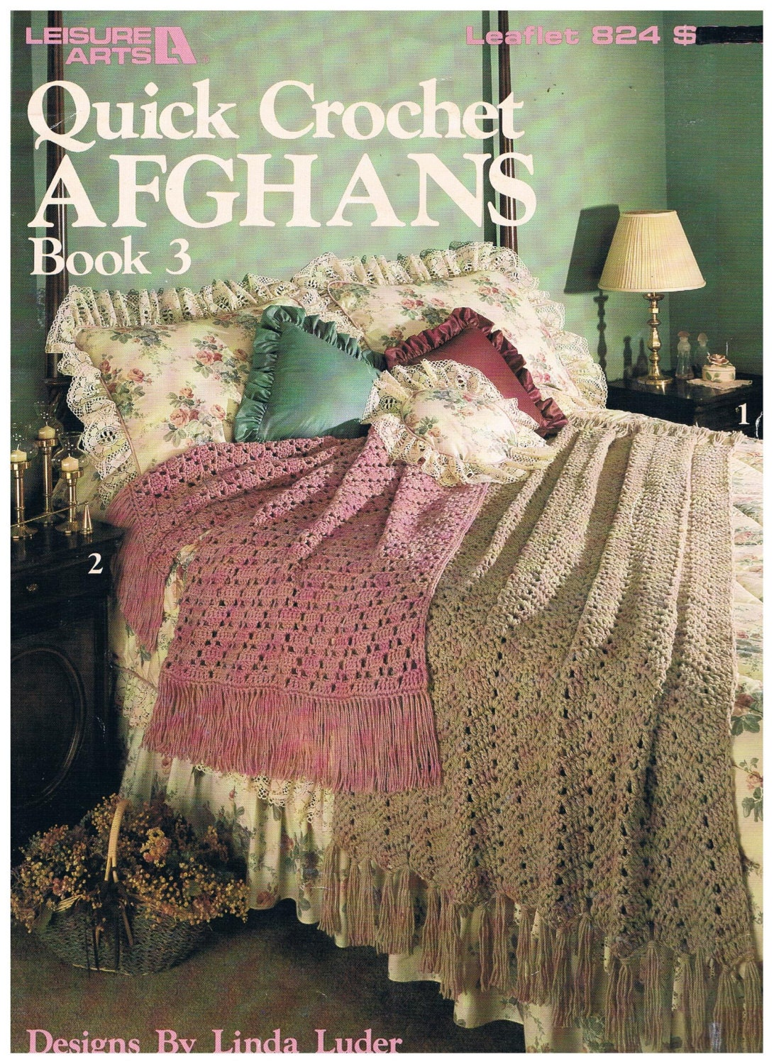 Crochet afghan patterns quick manet for quick crochet afghans vintage pattern 1989 by sparrowfinds bankloansurffo Images