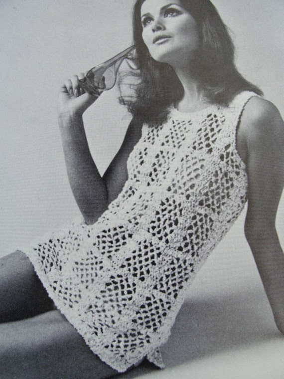 9b77165d92 White Crochet Beach Cover Up Dress.La Blanca Casablanca Crochet Swim ...