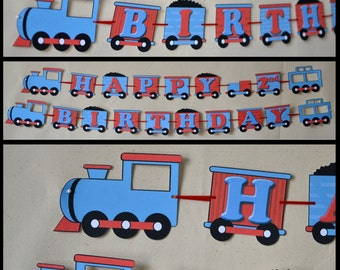 Thomas the Train Birthday Party - BANNER