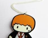 Wizard's Best Friend - Charm Necklace