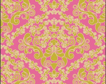 Dreaming in French Green Mademoiselle Fabric by Pat Bravo for Art Gallery Fabrics - 1 Fat Quarter