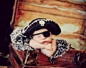 Newborn Photo Prop Baby Boy Pirate Hat
