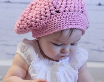 Slouchy Hat (fits Babies to Adults)