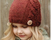 Knitting PATTERN-The Leighton Cloche' (0/3 months, 3/6 months, 6/12 months, Toddler, Child, Adult sizes)