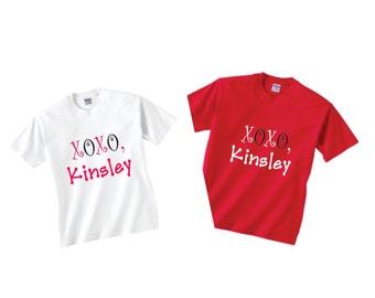 Custom Valentine's Day Kids Toddler Tee