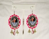 Heathers Movie Pop Culture Earrings with Swarovski Crystals