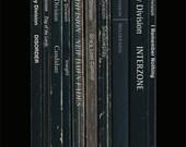 Joy Division 'Unknown Pleasures' Album As Books Poster Print