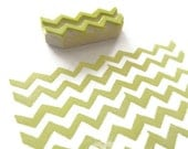 Mini Chevron Pattern Maker - Rubber Stamp - Cling Rubber Stamp