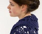 Pattern PDF for Crochet Circle Shrug, Shawl Collar, Layering Bolero, Intermediate Skill