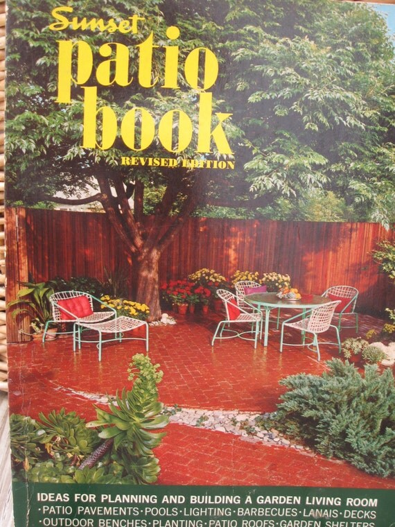 60s Home Decor the 60s take shape mosamuse Sunset Patio Book 50s Home Decor 60s Decorating Mid Century Modern Architecture Atomic