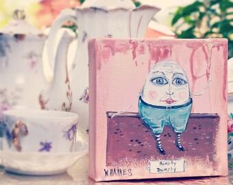 Humpty Dumpty - Mini Canvas