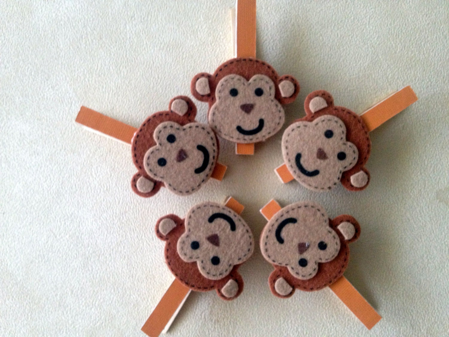 monkey baby shower favor gift game or prizes by onemoresunshine