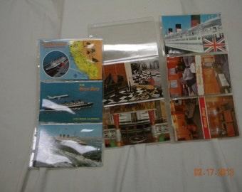 Queen Mary Cruise Ship, Postcards