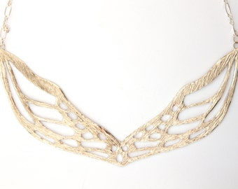 Demeter Collar Necklace - Sterling Silver