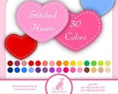 Heart Clip Art - Valentine's Day Clip Art - INSTANT DOWNLOAD - Love Hearts - Commercial Use - png/jpg