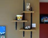 BLACKSMITH FORGED Shelf Brackets  by Naz