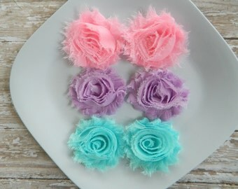 Pigtail Clippies-3 sets- toddlers, girls, hair clips,